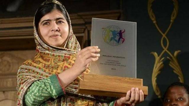 ملالا يوسفزي .. أصغر حاصلة على جائزة نوبل