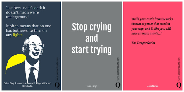 Best three inspirational quotations from the writers of QuoteandQuote.com