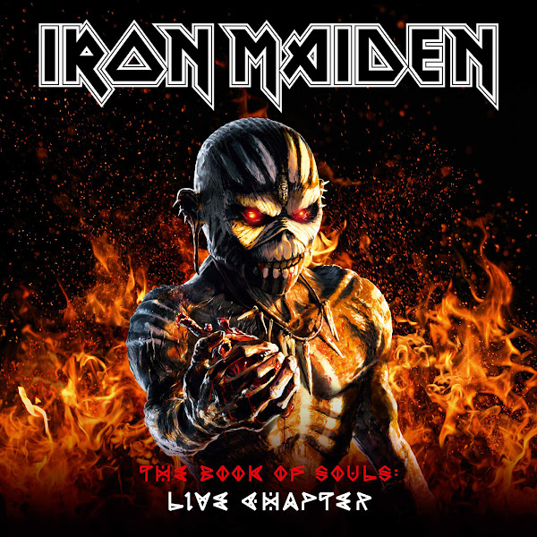 Iron Maiden - The Book of Souls: Live Chapter Cover
