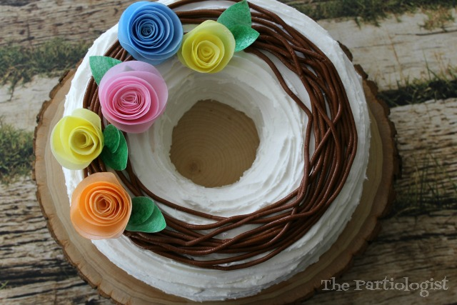 summer wreath cake
