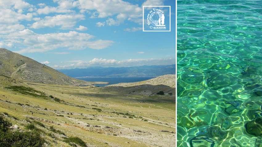L'isola di Krk e il mare della Croazia