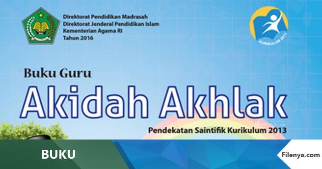 Buku Akidah A Mi Kls 3 Kurikulum 2013 Revisi 2016 Filenya