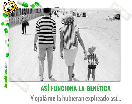 Chiste de Familias: Esto es la Genética