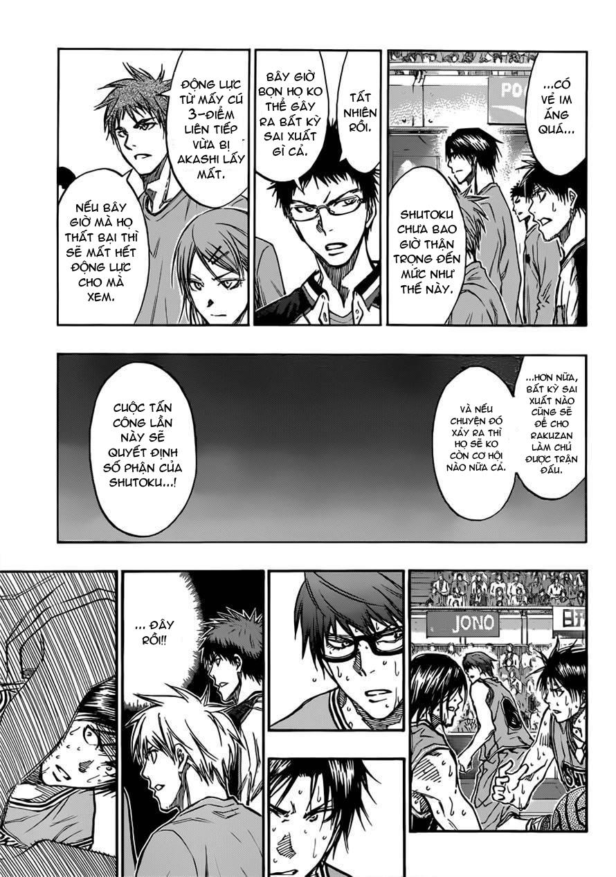 Kuroko No Basket chap 182 trang 3