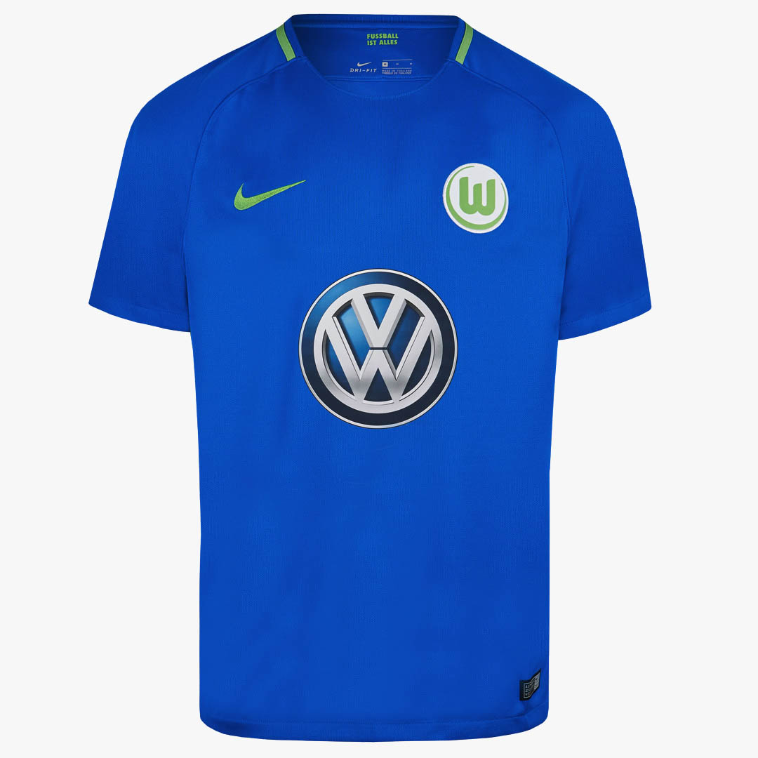d3b2fc98d The new VfL Wolfsburg away kit is royal blue for the first time since the  2015-16 season. Based on the current Nike template, the royal blue main  color is ...