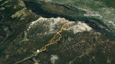 GPS Bivacco Ruggero Lenzi alla Busa delle Dodese