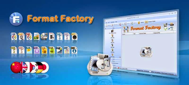 Format Factory Fast Converting