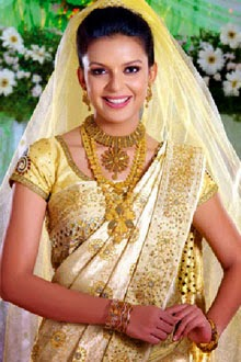kerala wedding beauty make ups and silk saree