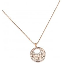 Park Lane Crystal and Rose Gold Plated Necklace