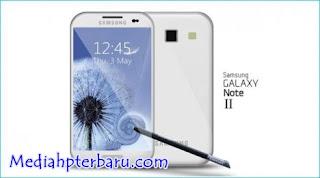 Harga dan Spesifikasi Samsung Galaxy Note 2 N7100