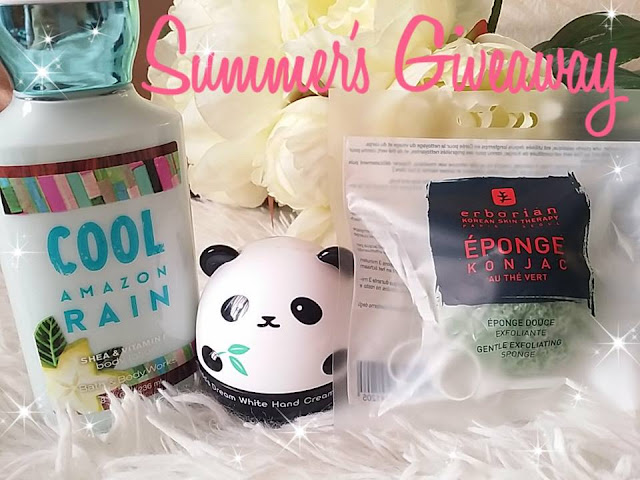 Le giveaway de l'été #1 ~Juillet~