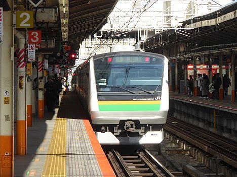 上野東京ライン 東京経由 黒磯行き2 E233系3000番台