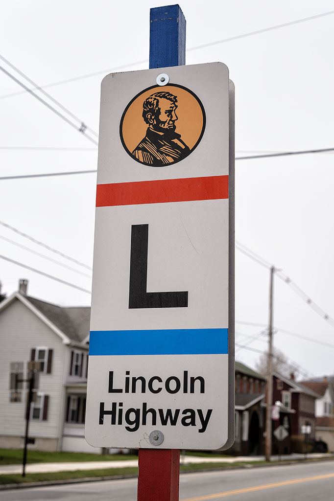 Lincoln Highway Sign - Everett, PA
