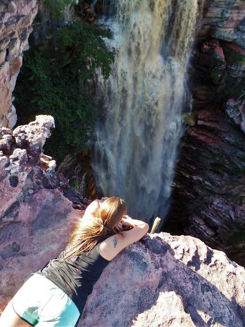Cachoeira do Buracão de cima