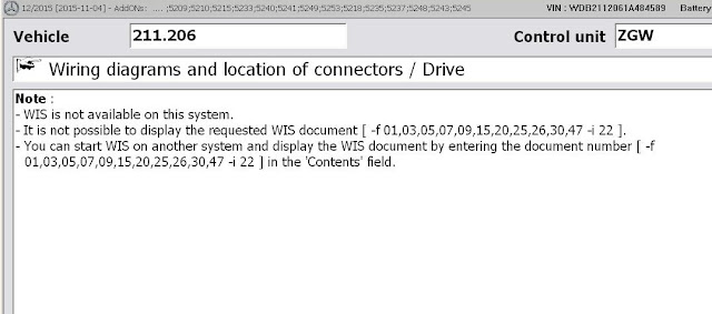 WIS is not available on this system