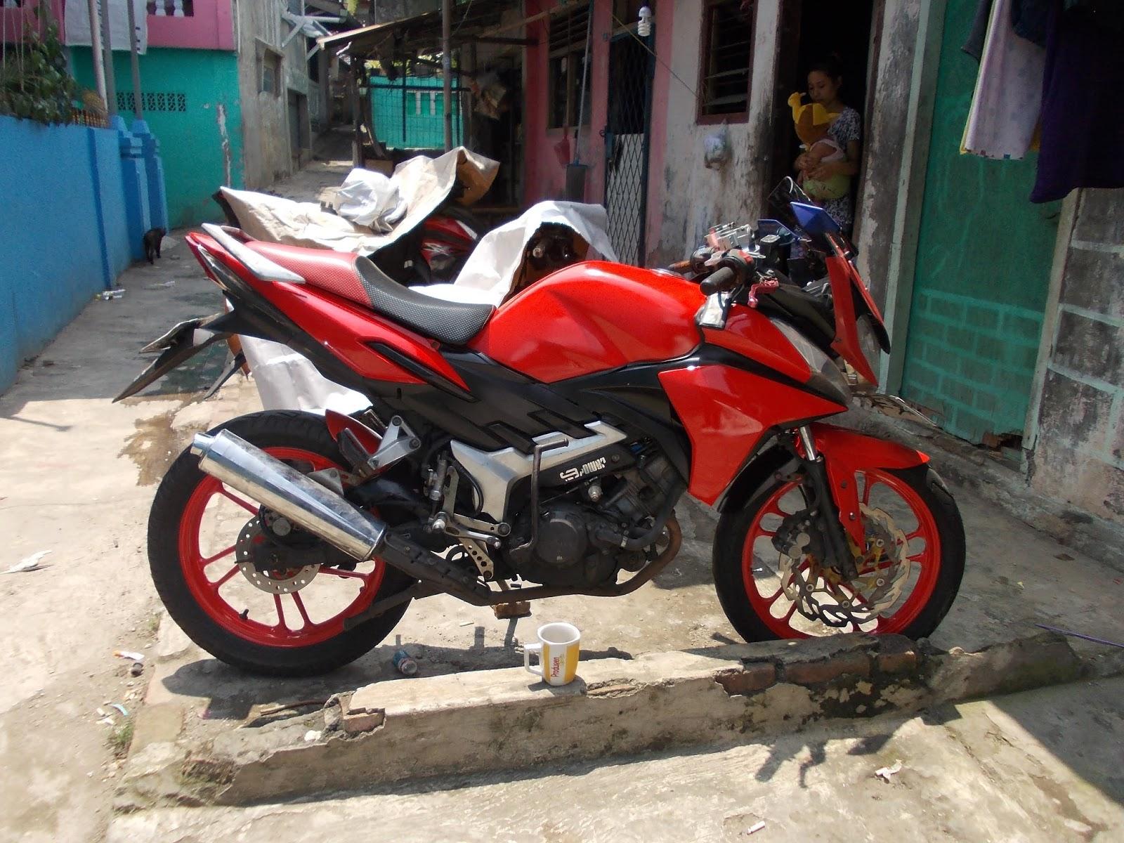 ANGGA BADAY Honda CS1 Modifikasi By RSB Motor Speed Style Shop