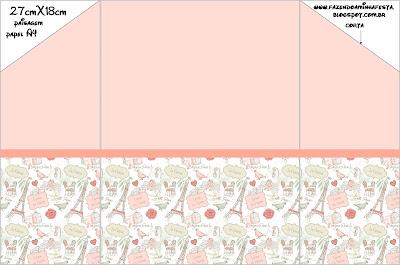Paris Kit Completo Com Molduras Para Convites Rotulos Para