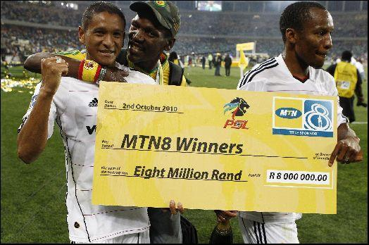 Who won 2010 telkom charity cup