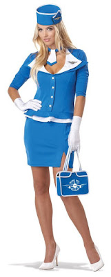 Retro Pan-Am Air Hostess Costume