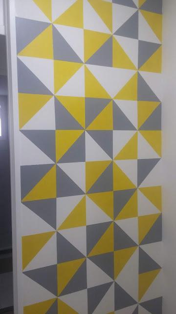 decoration -geometric- wall- painting