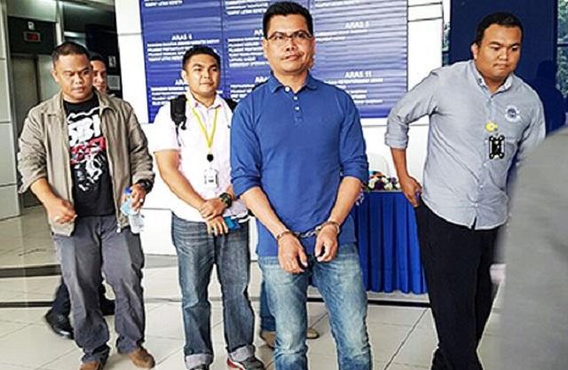 Datuk Seri Jamal Yunos Ditahan Polis Bukit Aman Di KLIA