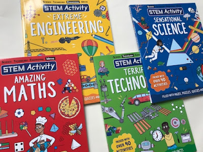 STEM Activity books from Carlton