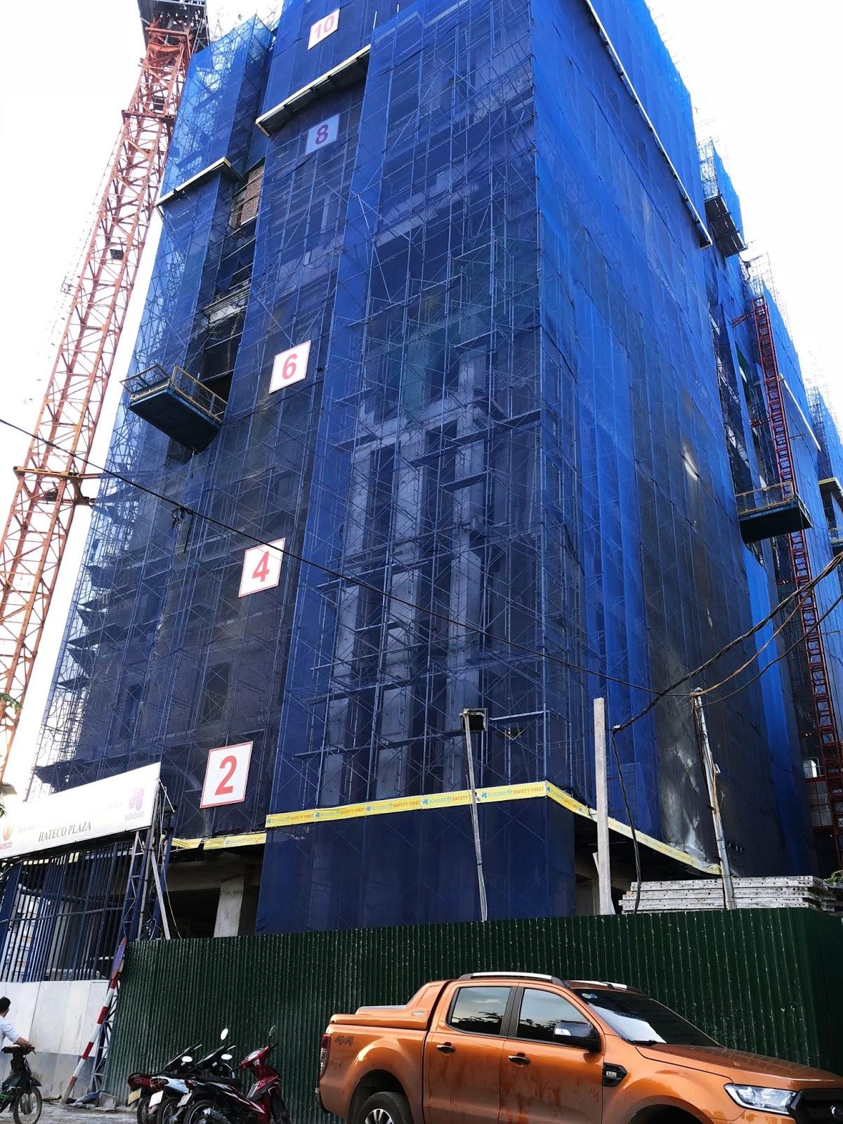 Tiến độ xây dựng mới nhất dự án Hateco Huỳnh Thúc Kháng