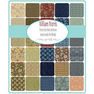 Moda William Morris 2017 Fabric by Victoria & Albert Museum for Moda Fabrics