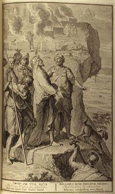 משלי בילעם - בילעם מברך את בני ישראל