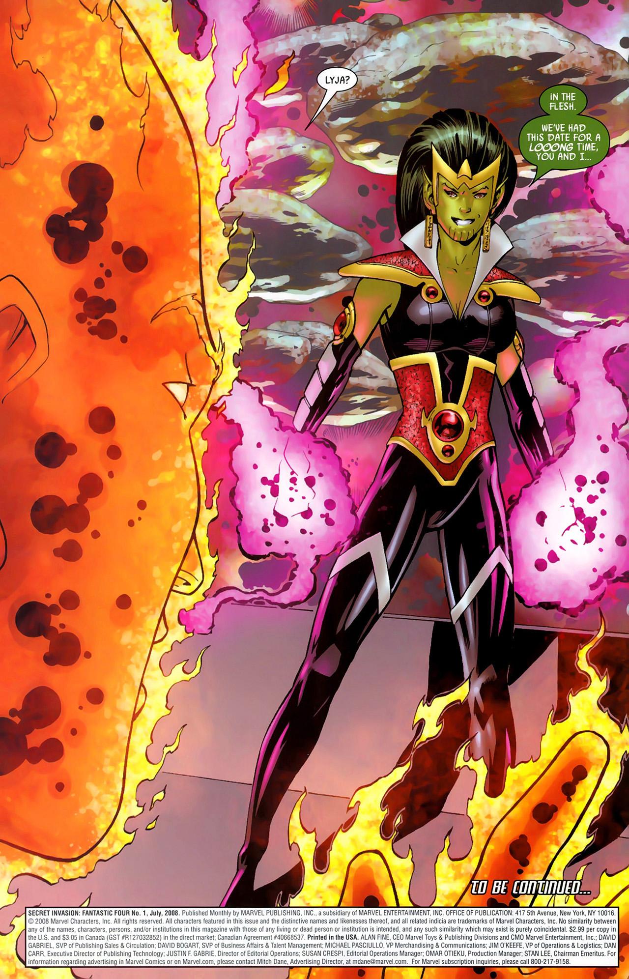 Read online Secret Invasion: Fantastic Four comic -  Issue #1 - 23