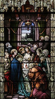 Imagem de terça-feira da Semana Santa, vitral, #1