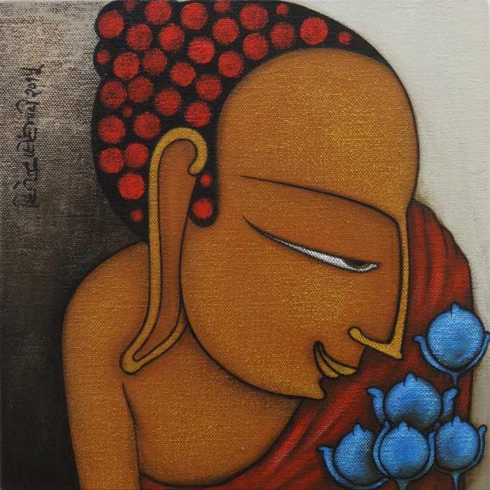 Фигуративные картины. Hitendra Singh Bhati