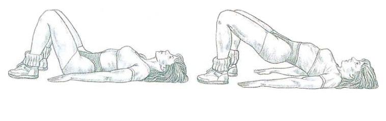 Ejecución de las elevaciones de pelvis en el suelo | Rane Forti