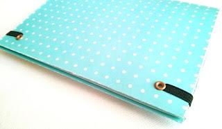Ideas Scrapbooking: Goma para cerrar libretas y cuadernos en 3 sencillos pasos