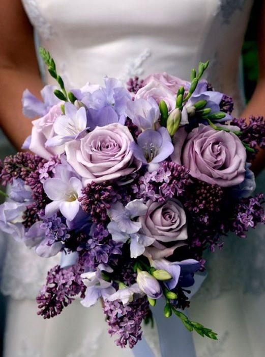 Flores Morada
