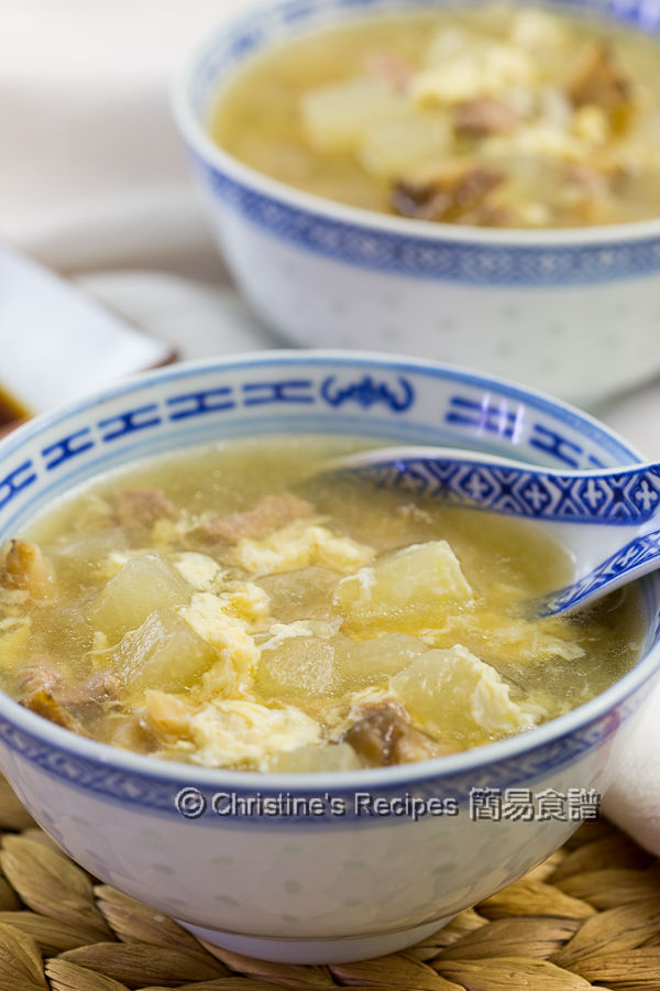 冬瓜粒湯 Winter Melon Soup01