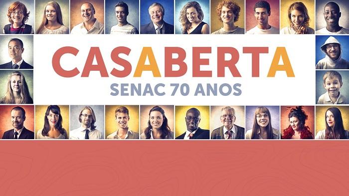 CONVITE: CASA ABERTA SENAC 70 ANOS