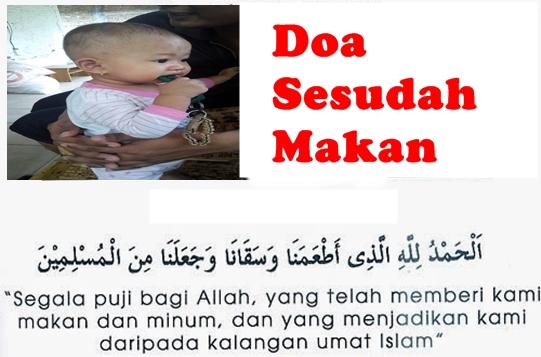 Bacaan Doa Sesudah Makan dan Minum Yang Sesuai Sunnah Dalam Islam Bahasa Arab Terjemahan Indonesia Latin