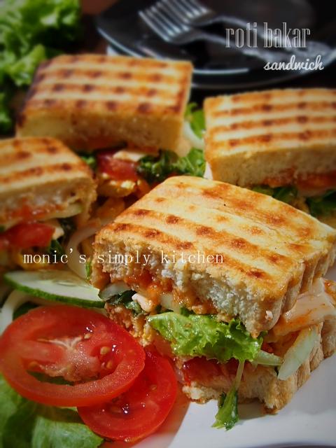 resep roti bakar abang abang sandwich