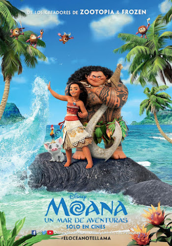 Moana (BRRip 720p Dual Latino / Ingles) (2016)