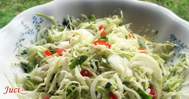 Káposzta saláta Jamie Olivertől