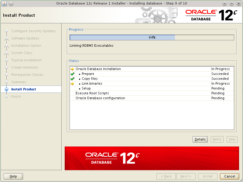Oracle instance start