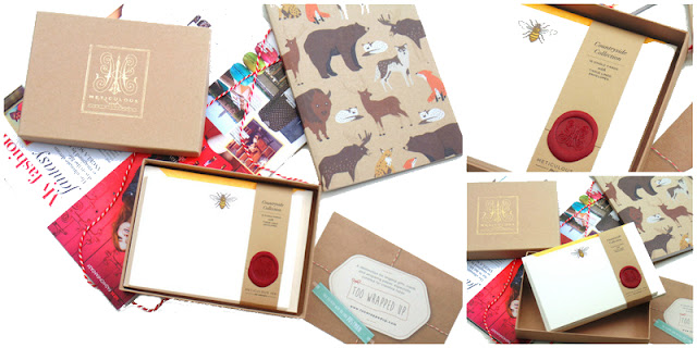 Too Wrapped Up Stationery Review