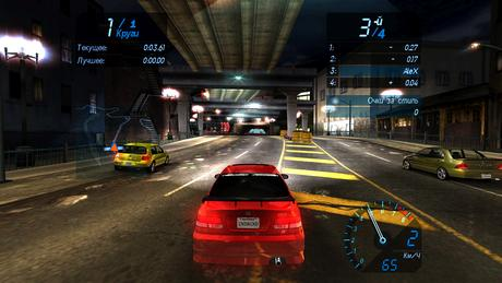 Need for Speed Underground Gameplay Screenshot