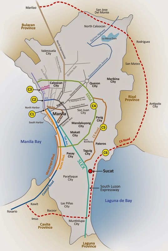 Bulacan-Cavite Regional Expressway via C6