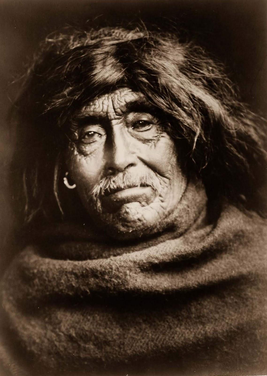 Mowakiu, a Tsawatenok man. 1914.