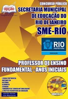 concurso SME RJ -  Professor - Anos Iniciais