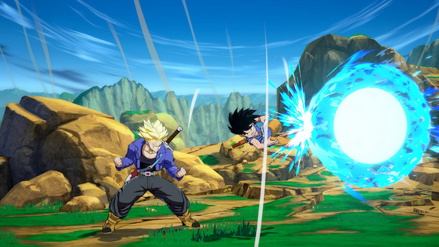 Dragon Ball FighterZ New Character Kid Goku (GT) First Screenshots Revealed