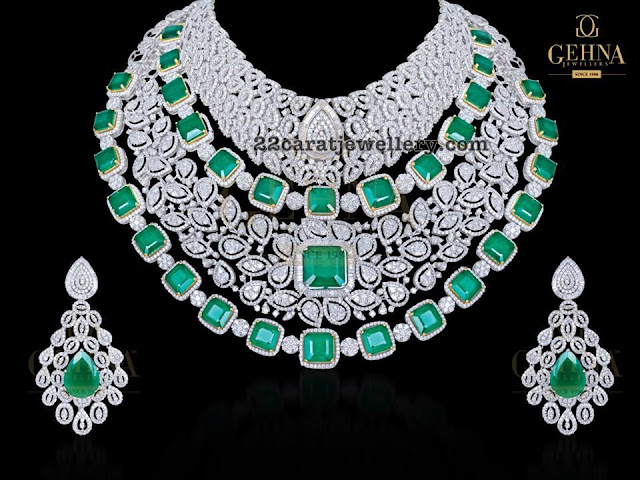 Large Diamond Choker by Gehna