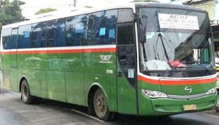 Rute Bus Mayasari Bakti AC 117 Poris Tangerang - Pulo Gadung